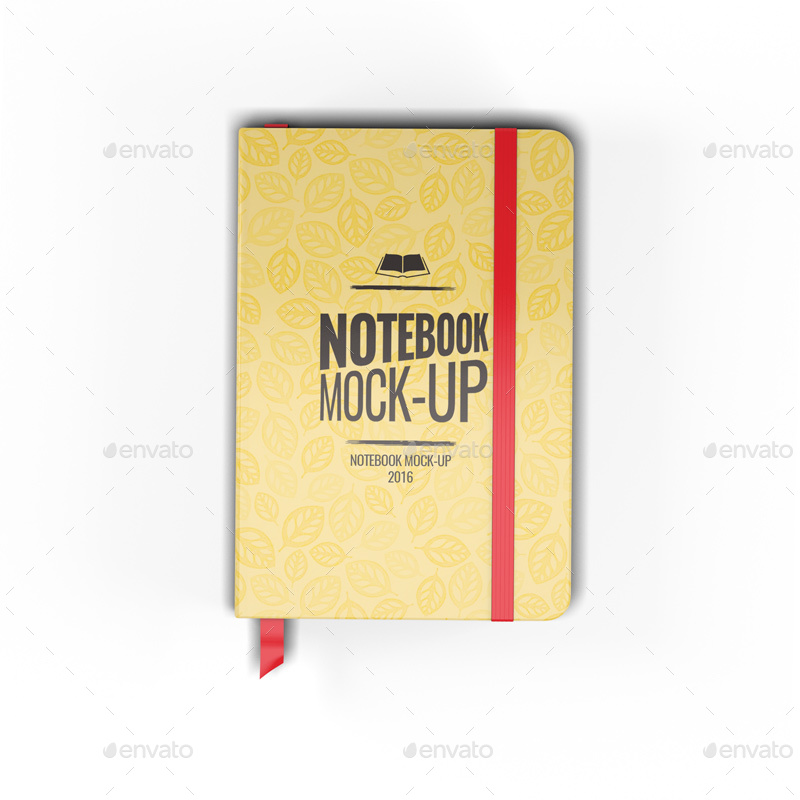 Notebook-Mock-Up 3d book mockup design psd paper high resolution