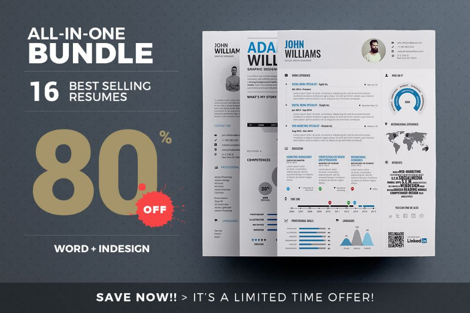 16-essential-resume-template-bundle