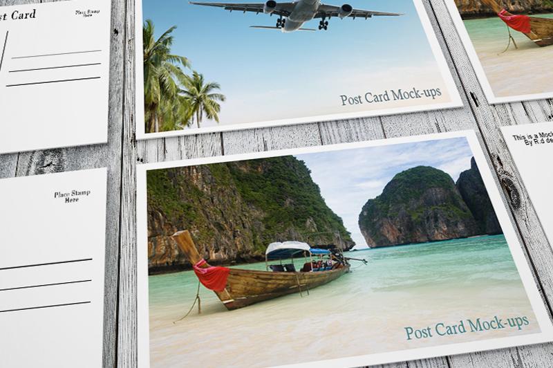 beautiful post card mockup templates psd envelope cover