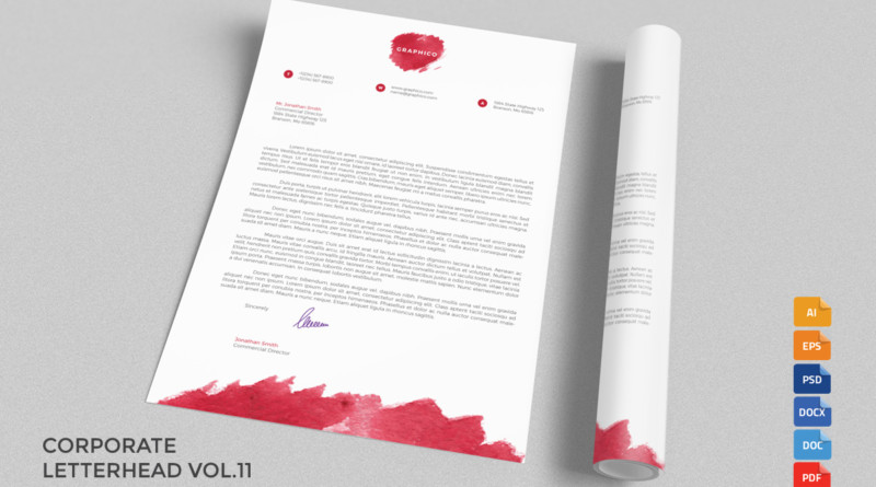 A4 Company Letter Head Templates letterhead-sample-letterhead-printing-free-examples-of-company-letterhead-tempaltes