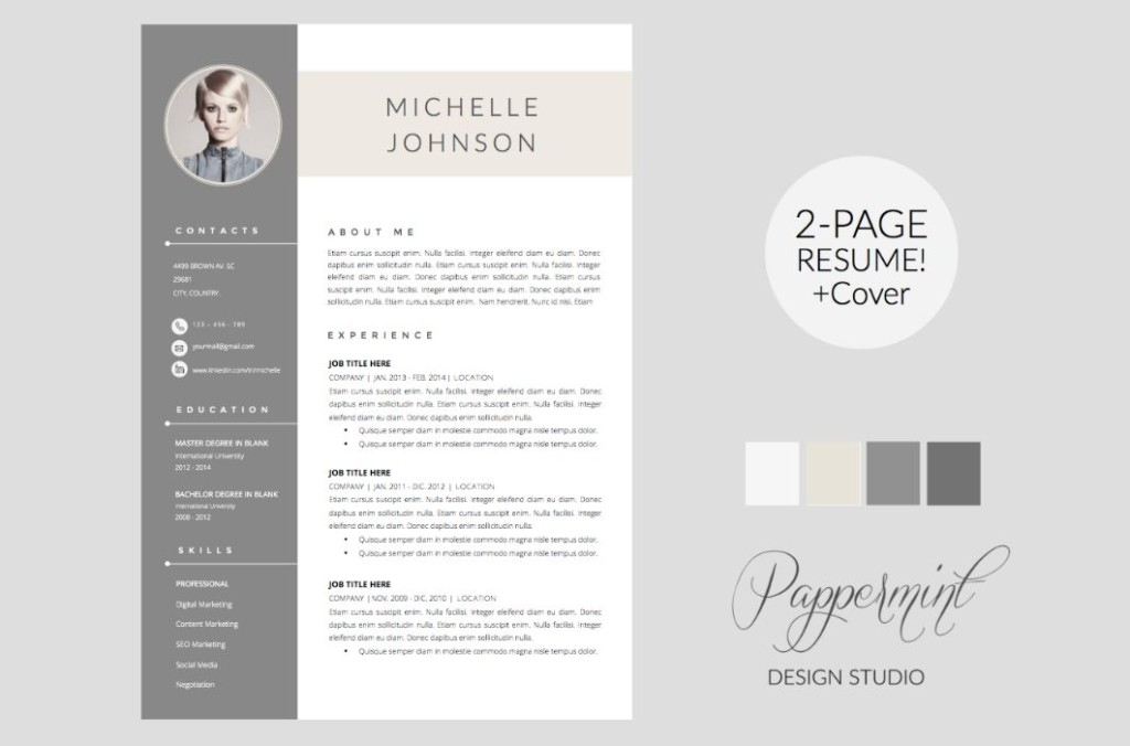 2-page-designer-resume-template-word