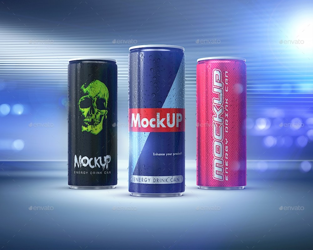 energy drink can mockup free beer bottle mockups template psd