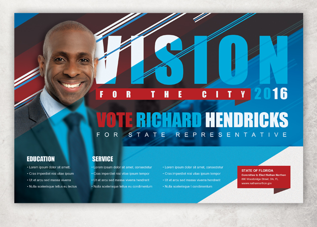 Political Brochure. Political Flyers, Flyer Design, Political ...
