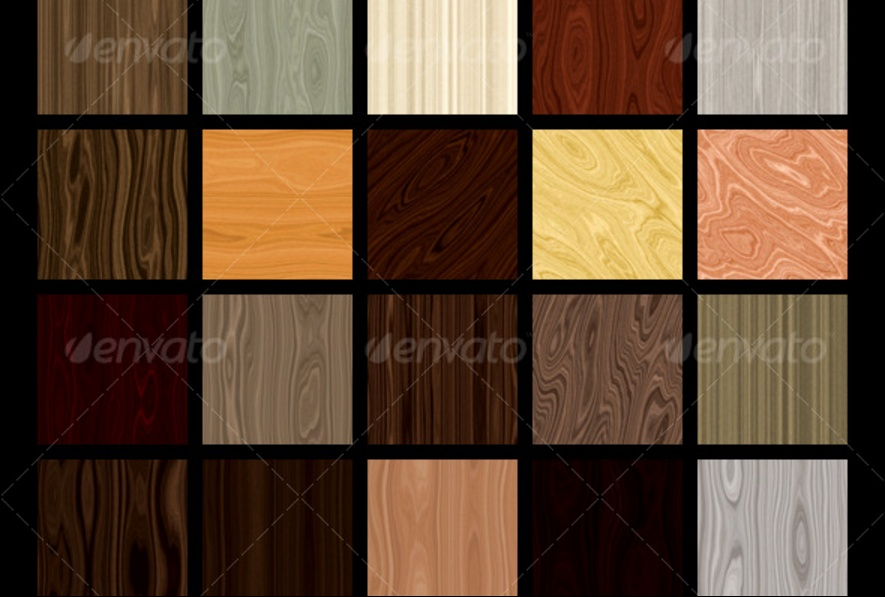 20 Seamless Dark wood Textures