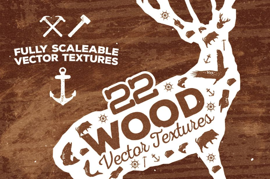 22 Sca;eable Wood Textures