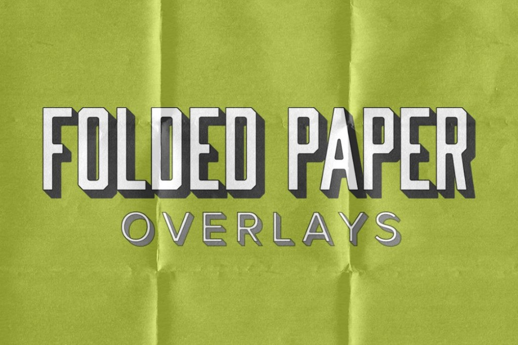 24 Folded Paper Textures