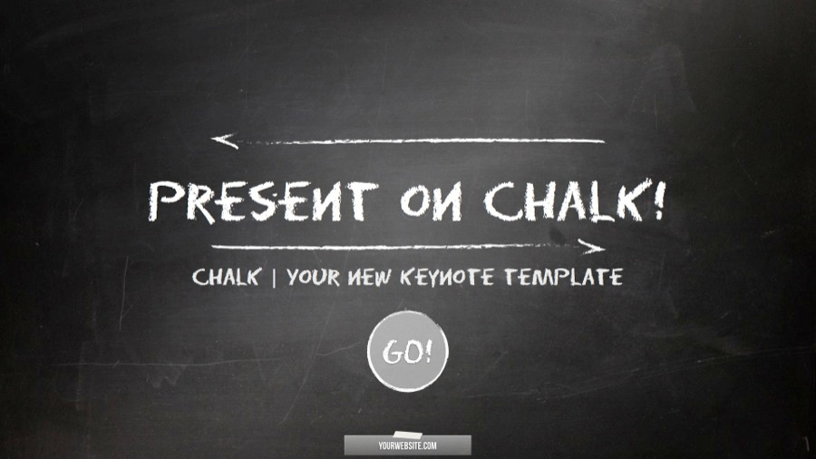 10 chalkboard powerpoint template ppt and pptx format
