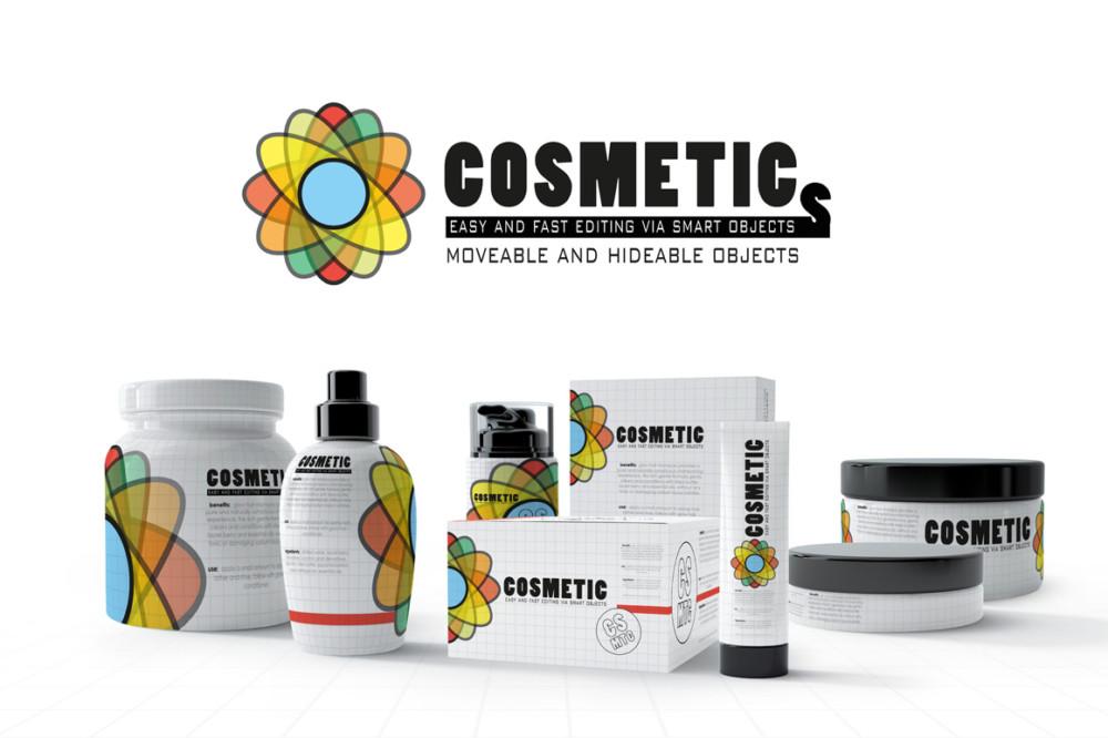 amazing realistic cosmetic branding mockup psd white bottle mockup