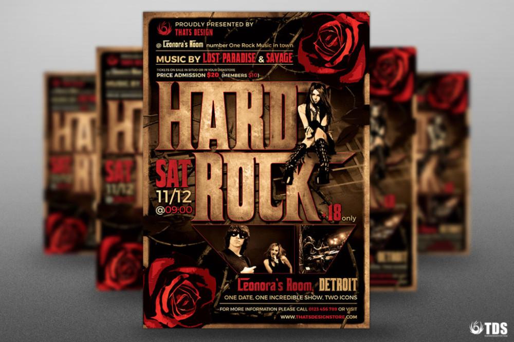 hard-rock-flyer-template-halloween-invitations-halloween-party-flyer