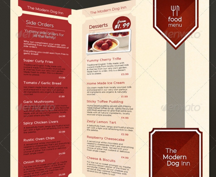 3 fold food brochure template psd graphic cloud for 3 fold brochure template psd