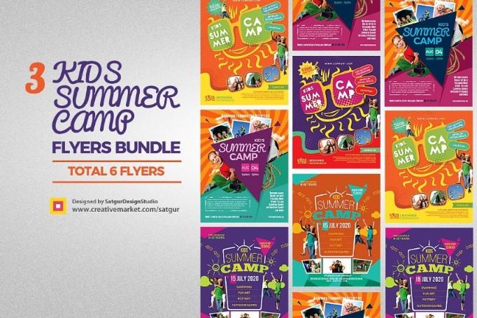 3 Kids Summer Camp Bundle