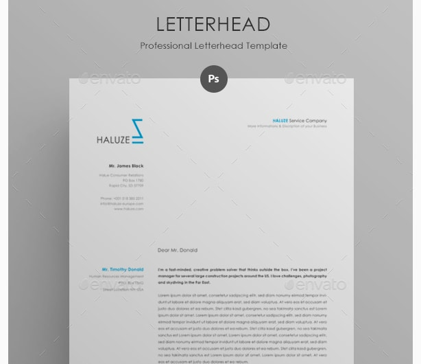 15 Creative Professional Letterhead Template Word Graphic Cloud – Free Professional Letterhead Templates