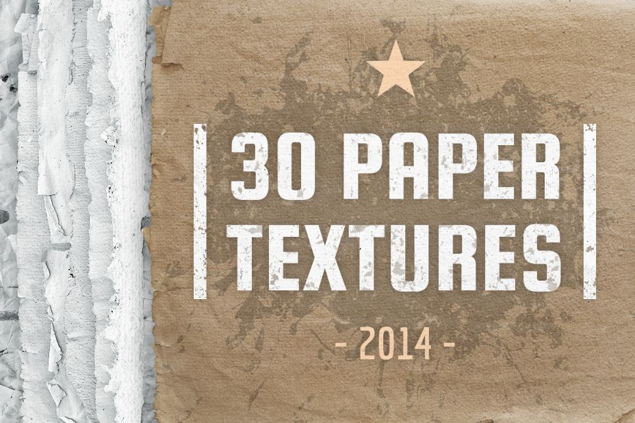 30 Paper Textures Pack