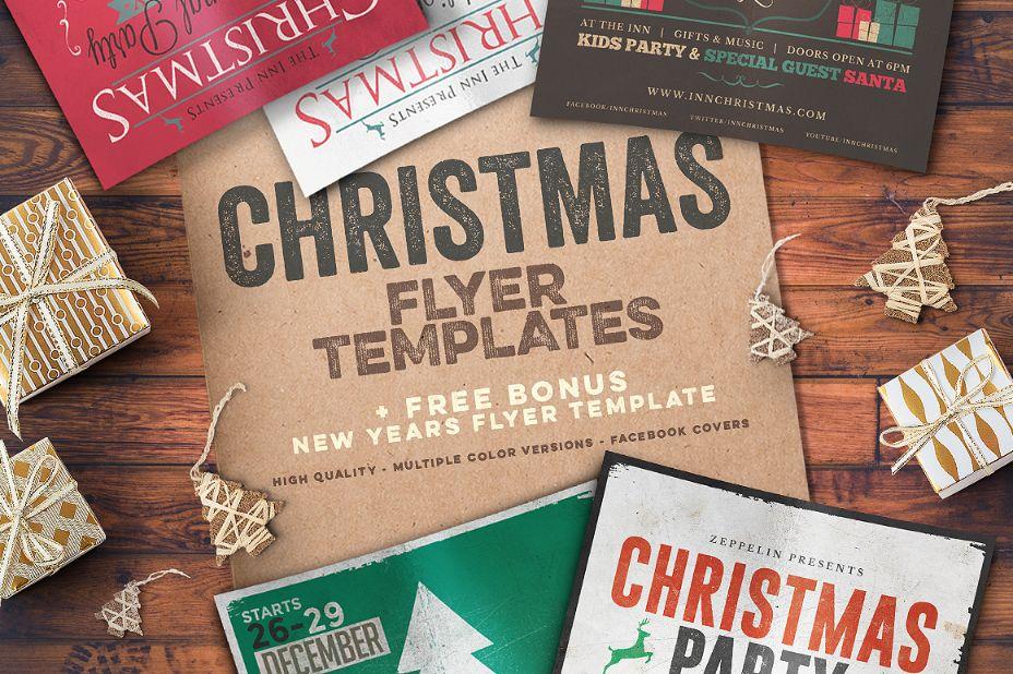 4-christmas-flyer-templates-bundle