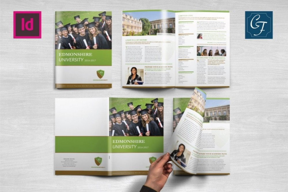 4-pages-education-brochure-template