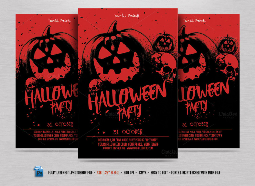 free-halloween-invitations-halloween-flyer-halloween-flyer
