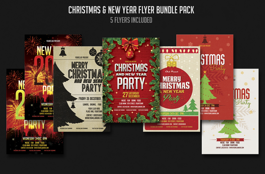 leaflet-template-template-flyer-christmas-party-flyer-flyer
