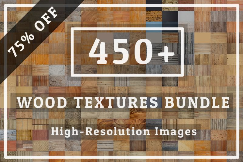 450+ Big Wood Textures Bundle