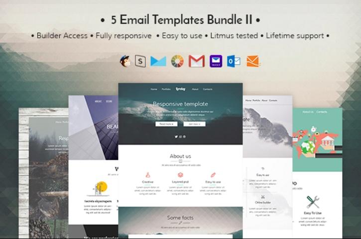 5-html-email-templates-bundle
