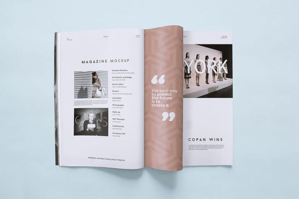 5 Magazine Mockup Templates (1)