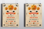 25+ Halloween Party Flyer/Poster PSD Templates