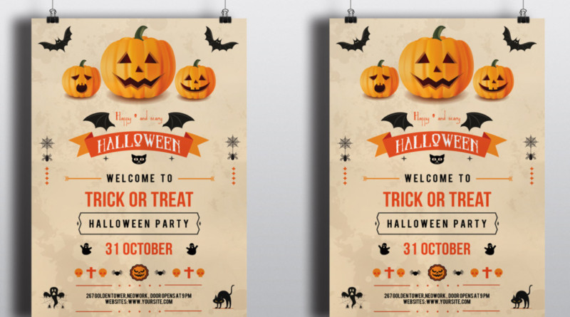 Halloween Party Invitation Printable Templates halloween-party-flyer-templates-free-halloween-party-flyer-template