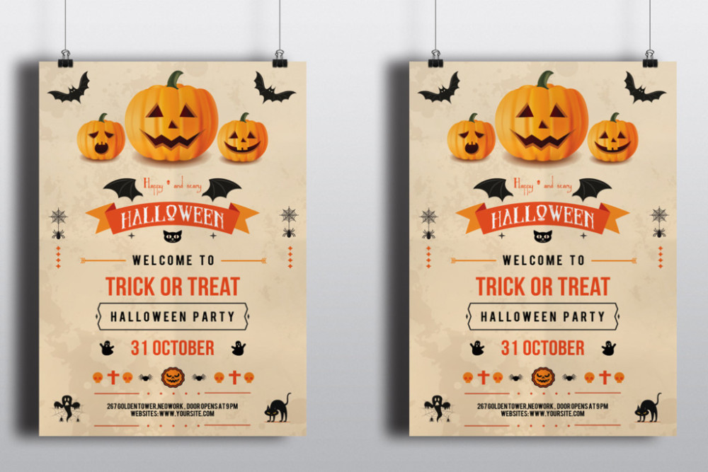 Trunk Or Treat Flyer Templates Zrom