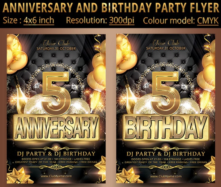 5th-birthday-invitation-template