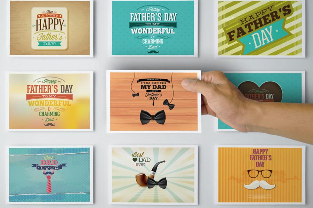 postcard-with-envelope-mockups invitation greeting envelope mockup template