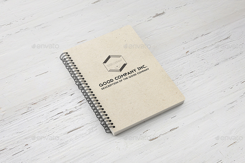 book cover mockup notebook mockups psd paper high resolution