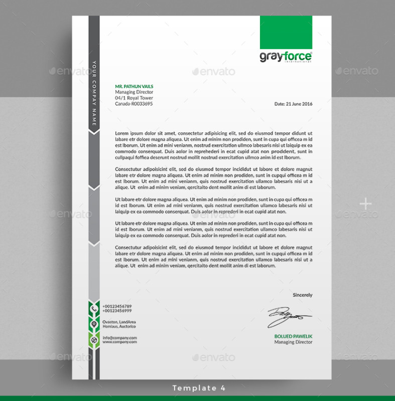 how to make letterhead