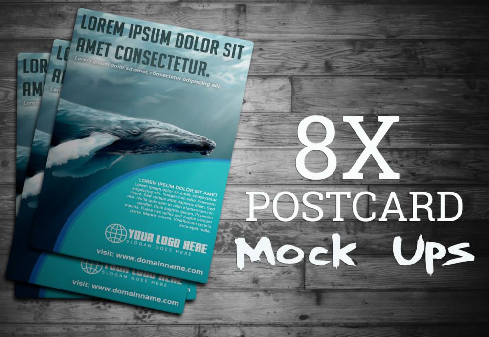 amazing post card mockup templates beautiful mockup psd
