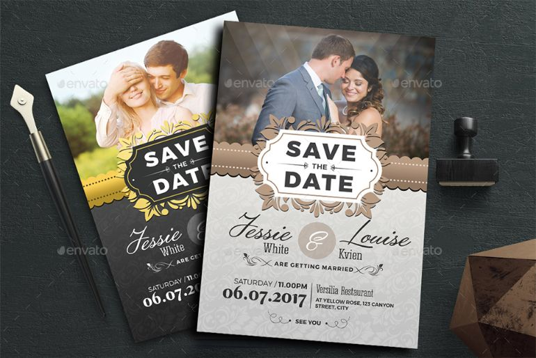 Invitation Wedding Templates with great invitations sample