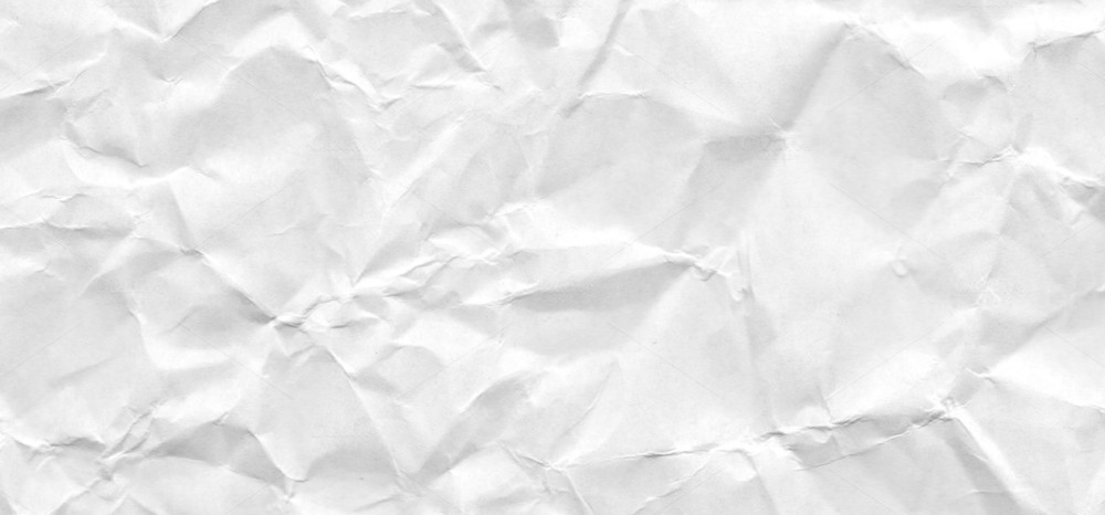 Abstract White Crumpled Paper Texture