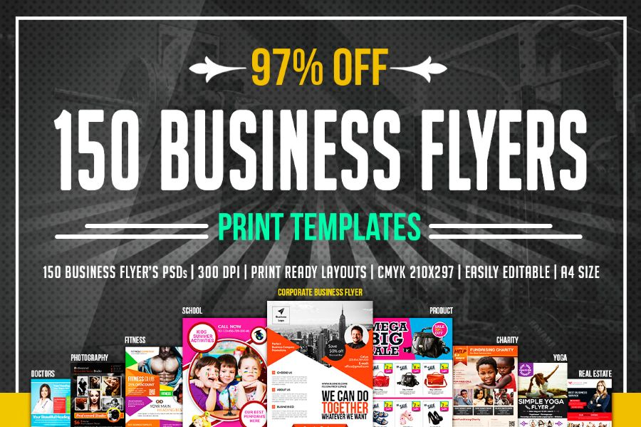 Advertisement Flyer Template Bundle