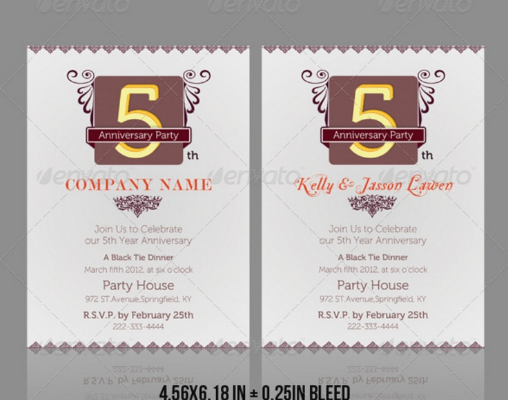 anniversary-party-invitation-template
