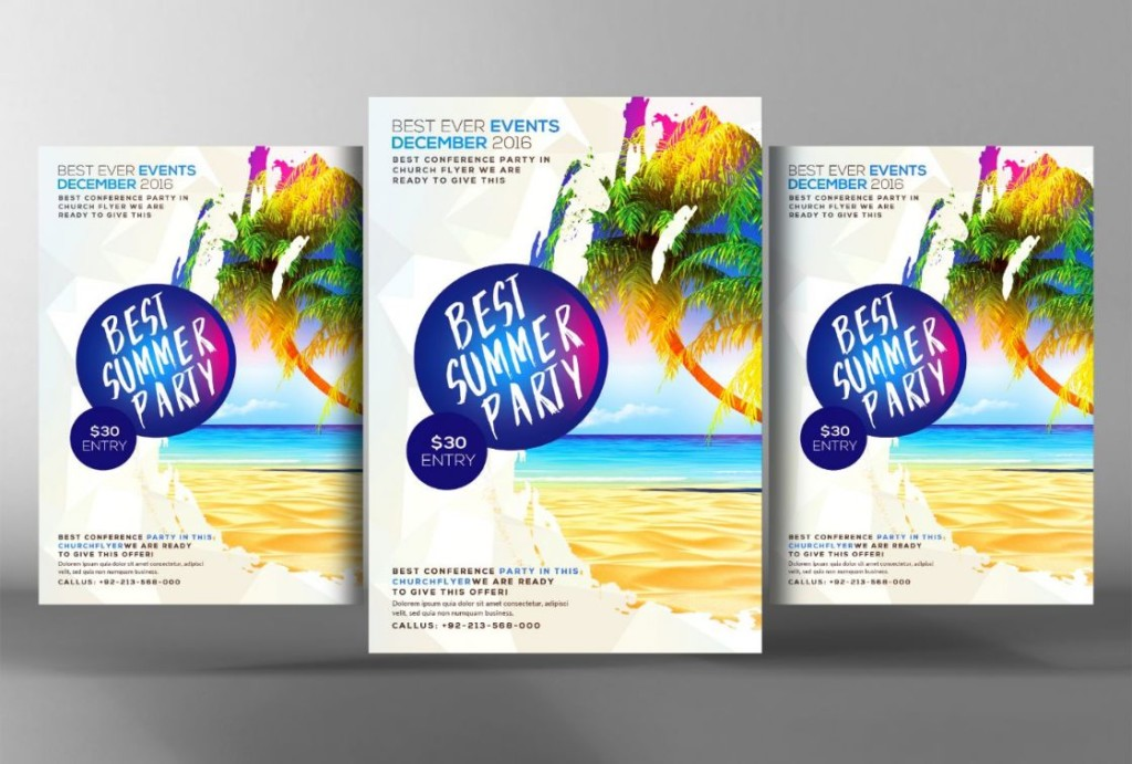 best-beach-party-flyer-template