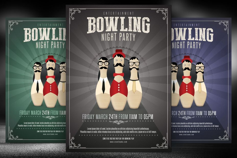bowling-night-party-invitation-template