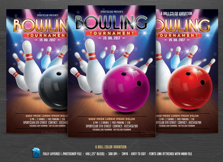 bowling-tournament-invitation-template