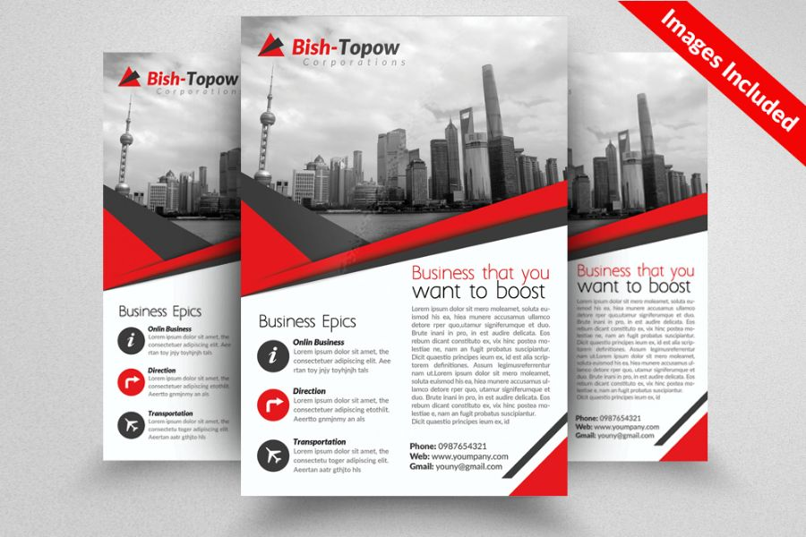 Business Corporate Flyer Template PSD