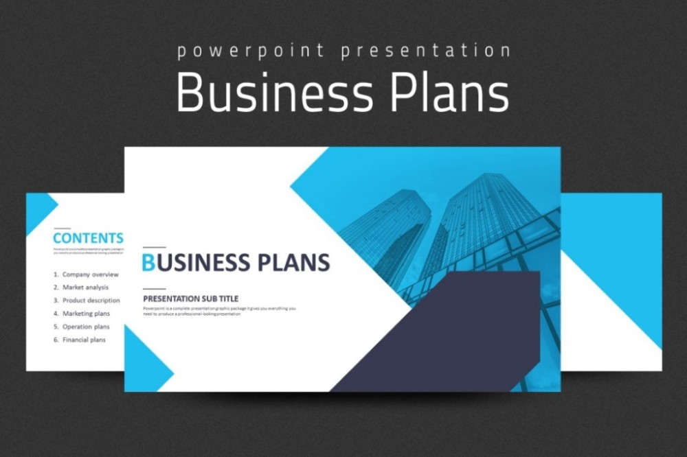 Sample Business Plans Ppt Insssrenterprisesco - Business plan powerpoint template free download