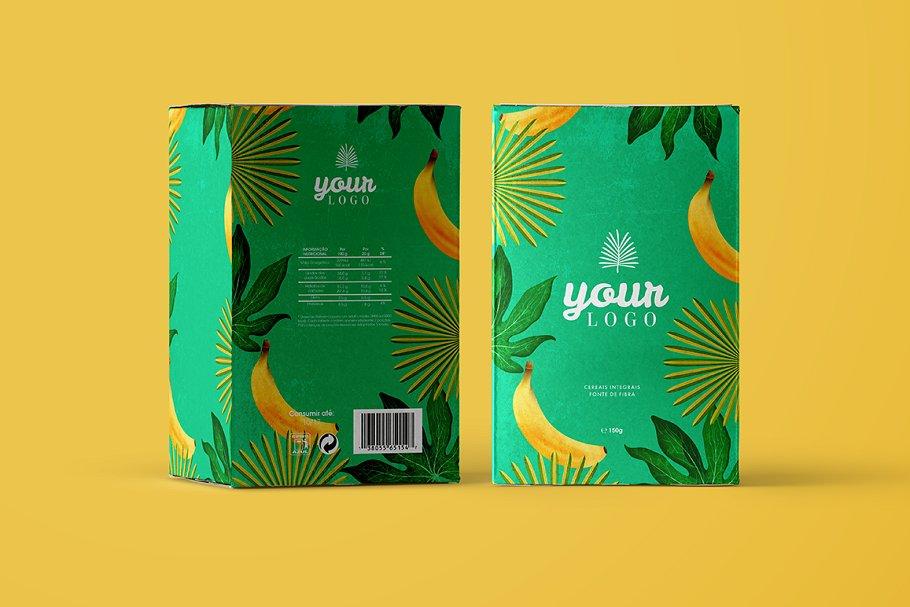 Cereal Box Mockups for Branding