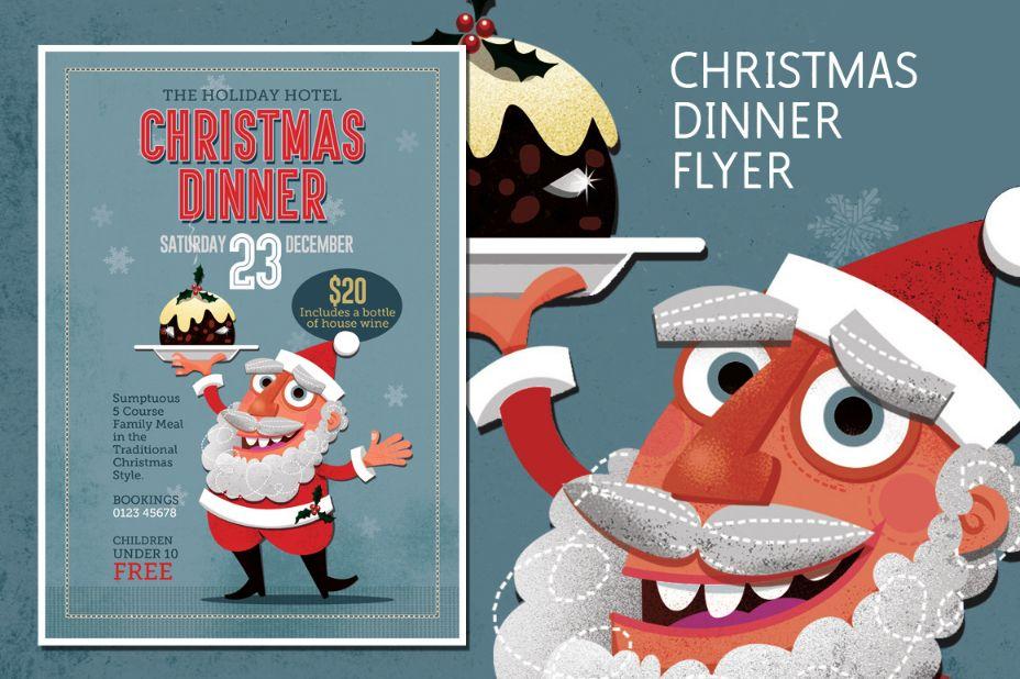 christmas-dinner-flyer-template-psd