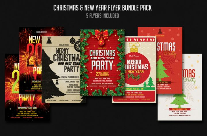 christmas-and-new-year-party-flyer-template-bundle