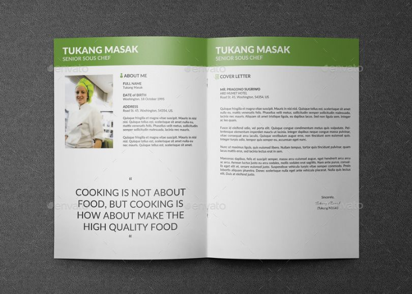 clean-chef-resume-template-indesign