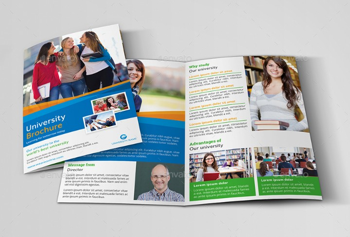clean-education-brochure-template