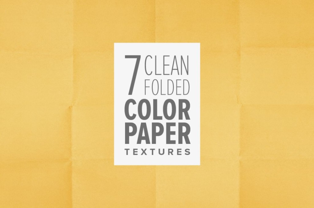 Clean Folded Paper Texture Pack (1)