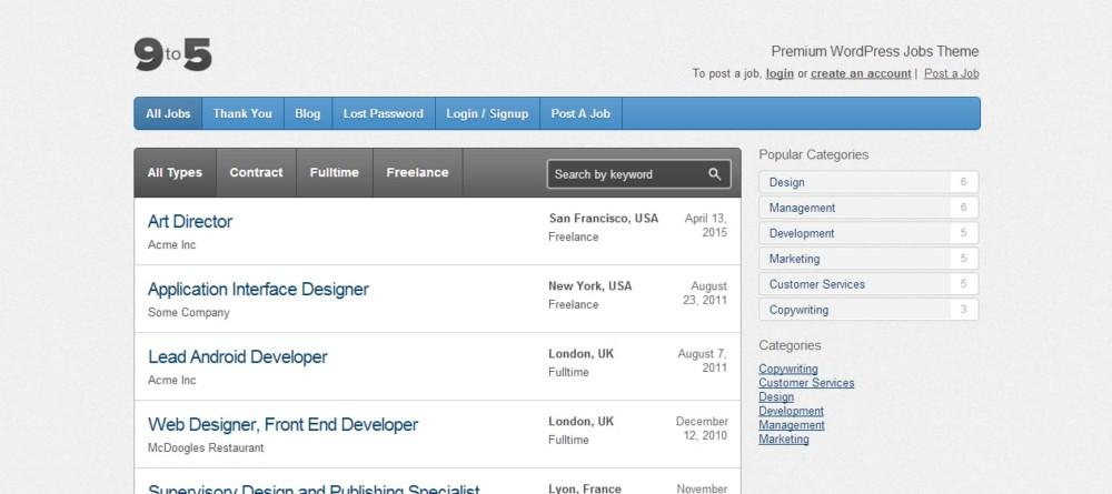 clean-job-portal-wordpress-theme