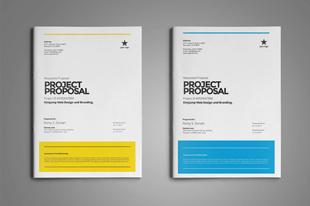 Clean Professional Proposal Template
