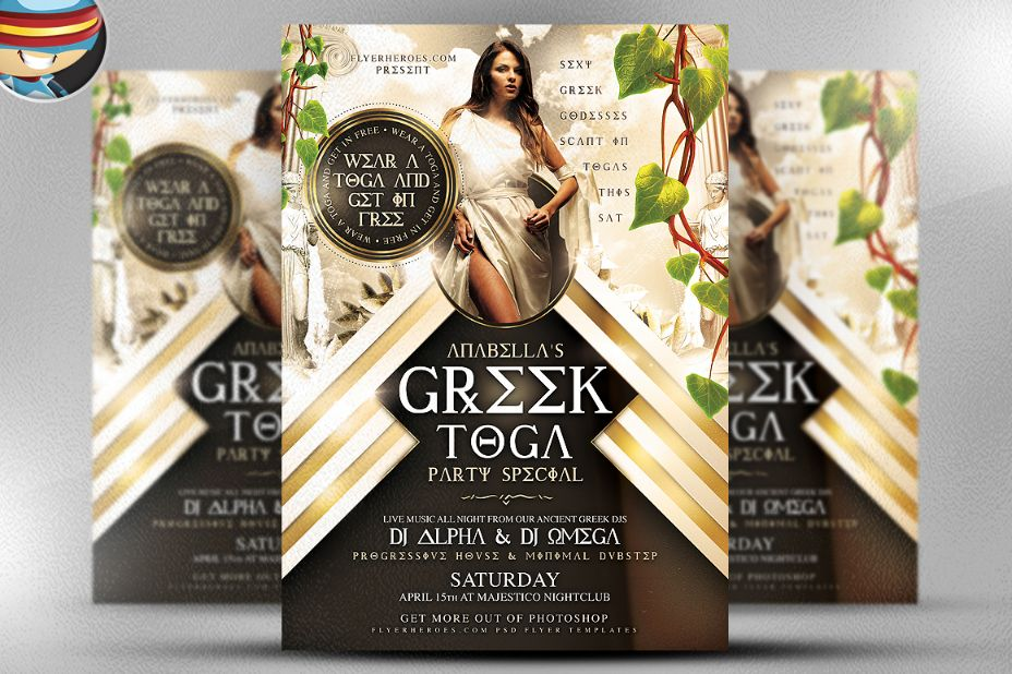 15 Club Flyer Template Psd For Party Ladies Night And Night Party